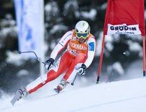 Alpine skiing world cup - Val Gardena downhill training Stock Photo