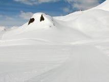 Alpine Slopes Royalty Free Stock Photos