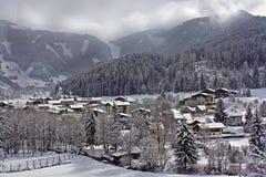 Alpine Stadt Stockbilder
