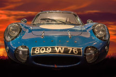 RetroMobile - Alpine-Renault A210  Royalty Free Stock Photo