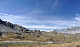 Alpine Stelvio national park 2. Alpine Stelvio national park landscape Royalty Free Stock Photos