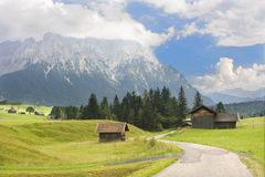 Alpine Straße Stockfoto