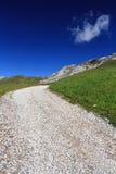 Alpine Straße lizenzfreie stockfotografie