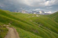 Alpine Summer Landscape Stock Photos