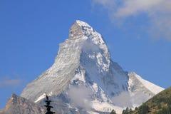 Alpine summit on a sunny day Stock Image