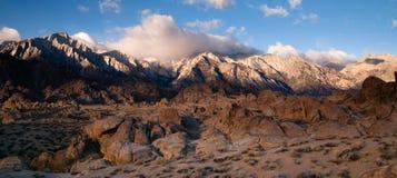 Alpine Sunrise Alabama Hills Sierra Nevada Range California Royalty Free Stock Image