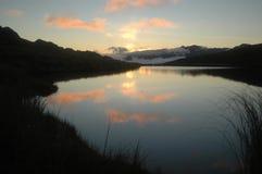 Alpine sunrise Royalty Free Stock Photo