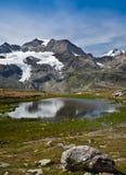 Alpine switzerland Stock Image