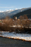 Alpine Szene, Nord-Italien Lizenzfreie Stockfotos