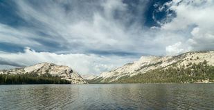 Alpine Tenaya Lake in Yosemite National Park Royalty Free Stock Photo