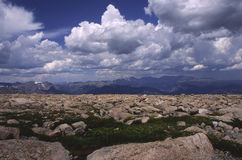 Alpine terrain in Colorado Rocky Mountains Royalty Free Stock Photography