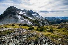 Alpine Terrain. Illal Meadows, Coquihalla, British Columbia stock photography