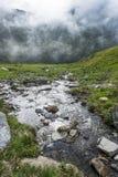Alpine torrent Stock Photo