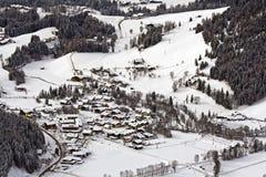 Alpine town Stock Photo