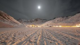 Alpine Town Stock Image