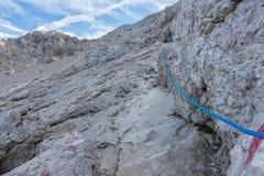 Alpine track Royalty Free Stock Photography