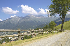 Alpine trail Stock Image