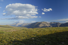 Alpine tundra in Colorado Rocky Mountains Royalty Free Stock Images