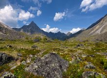 Alpine tundra. Eastern Sayan Royalty Free Stock Photos
