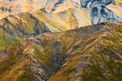 Alpine tundra habitat in high mountain range Stock Image