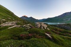 Alpine twilight Royalty Free Stock Image