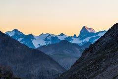 Alpine twilight Royalty Free Stock Photography