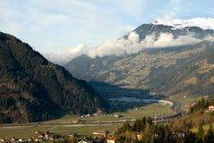 Alpine Valley, Austria Royalty Free Stock Photos