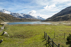 Alpine valley Royalty Free Stock Images