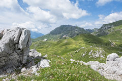 Alpine valley Stock Photography