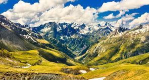 An alpine valley Stock Images