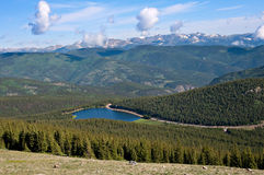 Alpine View Stock Images
