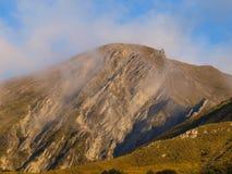 Alpine view in New Zealand Stock Photo