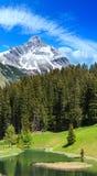 Alpine view Vorarlberg,Austria Stock Photography