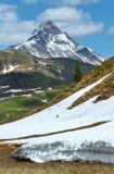 Alpine view (Vorarlberg,Austria) Stock Photography