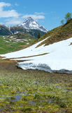 Alpine view (Vorarlberg,Austria) Stock Photos