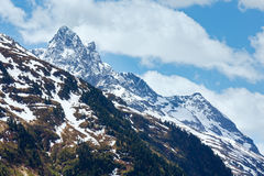 Alpine view (Vorarlberg,Austria) Royalty Free Stock Photography