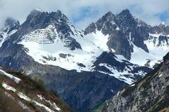 Alpine view (Vorarlberg,Austria) Stock Image