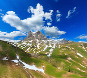 Alpine view Vorarlberg,Austria Stock Photos