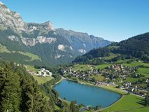Alpine Village Royalty Free Stock Images