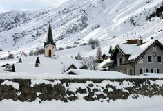 Free Alpine Village Stock Photography - 18589042