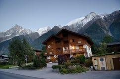 Alpine village royalty free stock photo