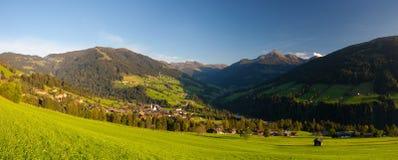 The alpine village of Alpbach and the Alpbachtal, Austria. Stock Image