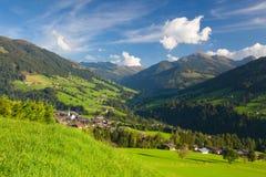 The alpine village of Alpbach and the Alpbachtal, Austria. Stock Photo