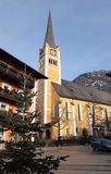 Alpine village Bad Hofgastein Royalty Free Stock Images