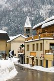 Alpine Village, Italy Royalty Free Stock Photos