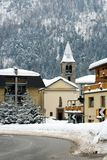 Alpine Village, Italy Royalty Free Stock Images