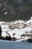 Alpine Village, Northern Italy Stock Photo