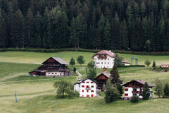 Alpine Village. Ortisei in Val Gardena (Italy) Stock Photography