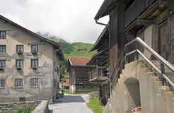 Alpine village Royalty Free Stock Image