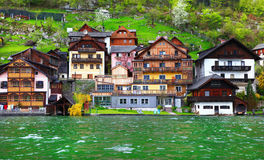 Alpine villages Royalty Free Stock Images